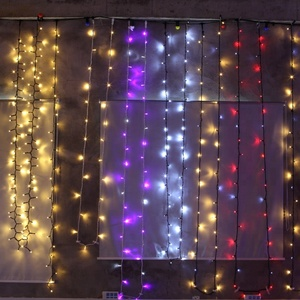Wholesale RGB Color Changing Waterfall LED Christmas Curtain Light for Window and Wall