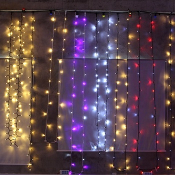 Wholesale Rgb Color Changing Waterfall Led Christmas Curtain Light For Window And Wall Buy Curtain Led Lights Led Color Changing Curtain Light Led