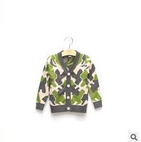 C63528A 2014 fashion newest kid's wholesale cotton knited jacket