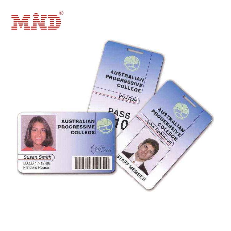 MDC455 Customized blank pvc business id card/sublimation pvc card