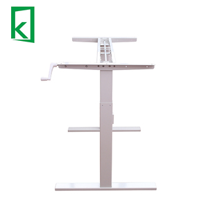 Good QJB311 height adjustable desk crank table base electric