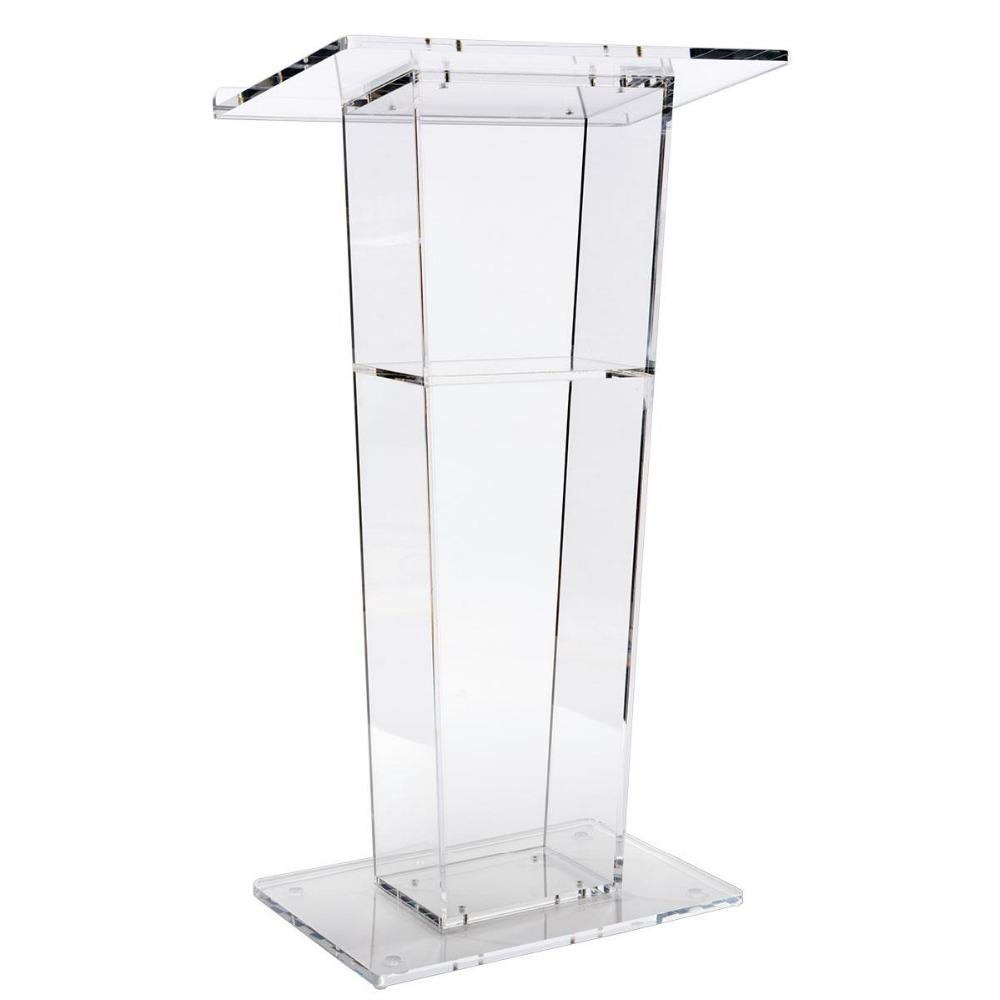 Möbel Acryl Rednerpult/podium Rednerpult/kanzel Acryl Podium Klaren Acryl Kirche Podium-standplatz Zu Verkaufen Schulmöbel Plexiglas Günstige Kanzel