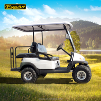 CE approved 4 seats electric car high quality utility vehicle/Trojan Battery