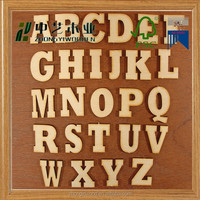 2016 new products wedding decoration wood letter alphabet