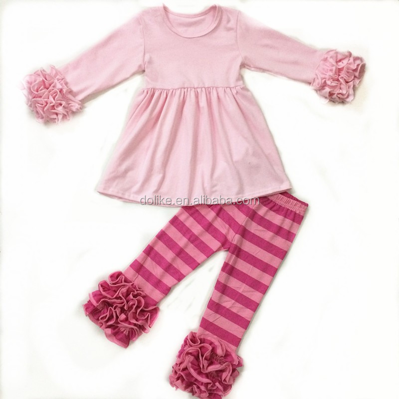 Matching Girls Ruffle Tunic Set High Quality Kids Clothing ...