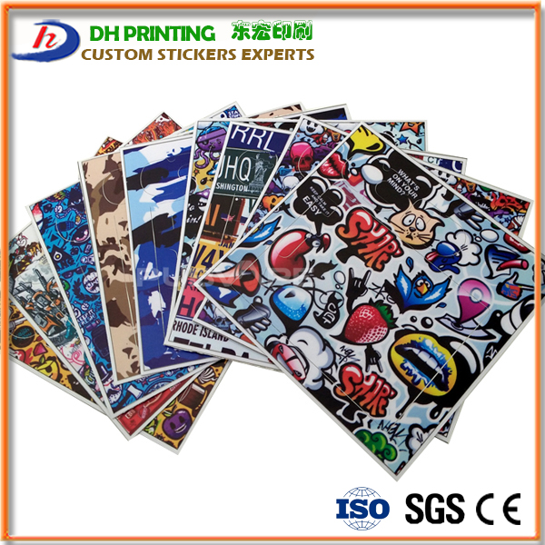 Custom Oracal Vinyl Peel Off Electronic Cigarette Pack Stickers