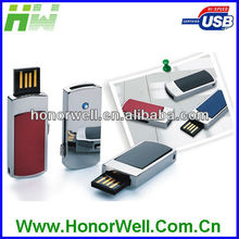 Hot Sell High Quality Free Logo Low Cost Mini Usb Flash Drives Slip Metal