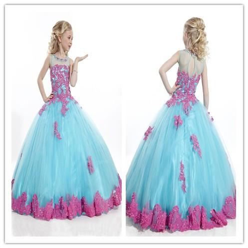 ca370d6d8821 Cheap Girls Luxury Dresses