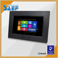 factory production 10.1'' use Android Tablet digital signage lcd advertising display with./without touch panel