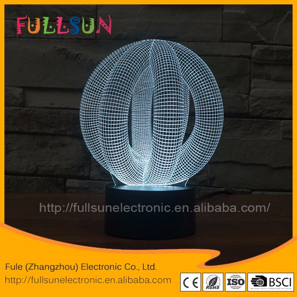 3d led night light LED display laser light FS-2899