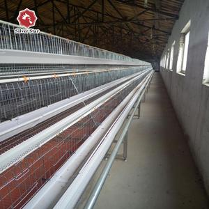 Silver star hot sale chicken farm used chicken cage equipment
