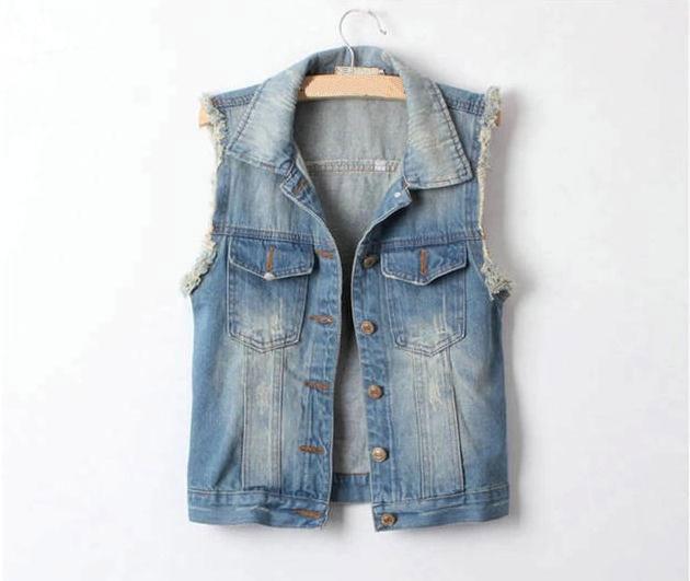 Ladies Short Sleeve Denim Jacket | Jackets Review