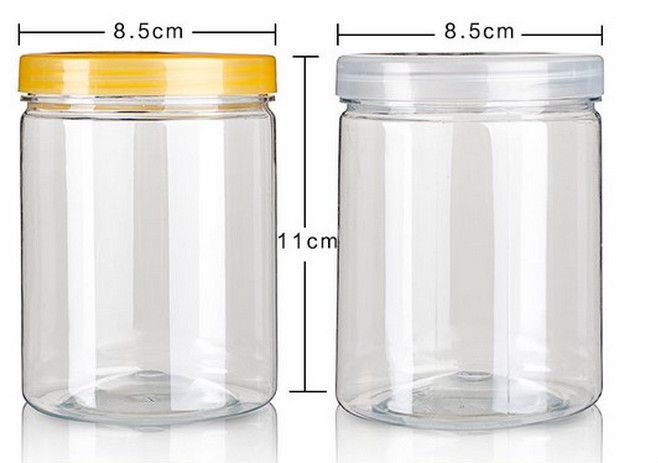 Plastic Jar Cosmetic Packaging 200ml Pet Plastic