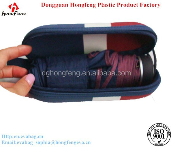 professional manufacture EVA umbrella case zipper locked umbrella bag