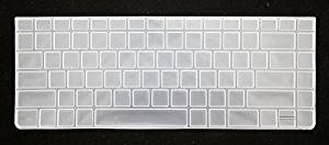 HYAIT 1Pcs Colorful Silicone Keyboard Protector Skin Cover for HP Probook 4331S 4431S 4436S 4446S 4441S 4341S CLEAR
