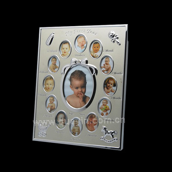 12 Month Baby Photo Frame For Baby Birth Present Buy Photo