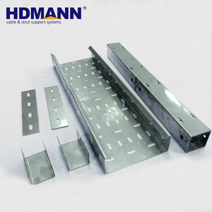 HDMANN New Product Aluminum Alloy Ventilated Cable Tray Price List