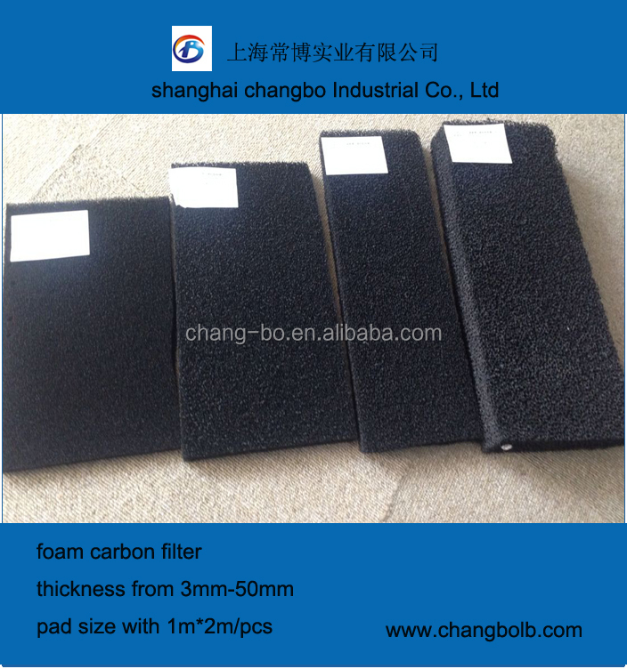 Activated Carbon Roll Filter Media China