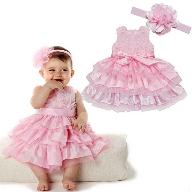 Newborn Baby Kid Girl Flower Headband+Tutu Skirt Photo Costume hot