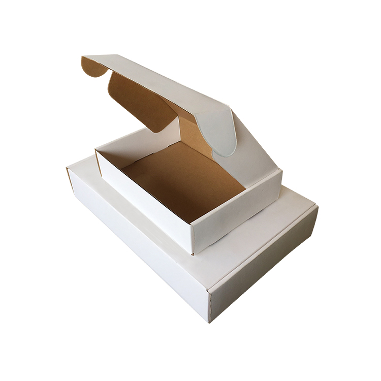 Professional factory popular plain white or brown kraft <strong>eco</strong> corrugated small gift mailer boxes
