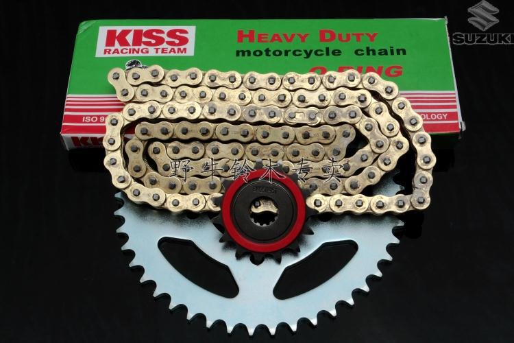 Бесплатная доставка оригинальное качество мотоцикл тяжелых GW250 большие и маленькие звездочки и цепи комплектов / комплект ( фронт 14 зубов, Сзади 45 зубов )
