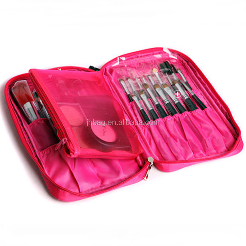 Cosmetic Makeup Brushes Roll Bag Pouch
