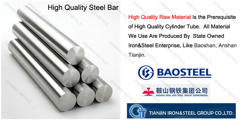 High quality hydraulic Cylinder Seamless Honed Steel Pipe with professional manufacturers