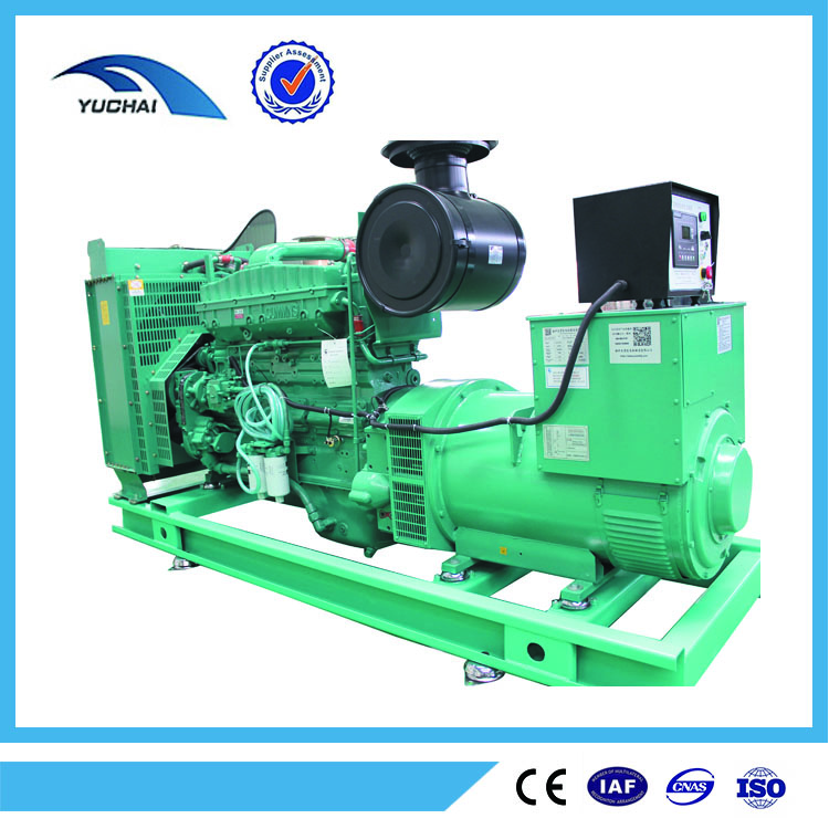 92kw 115kva open type low nosie high efficiency electric diesel generator price with CE ISO9001