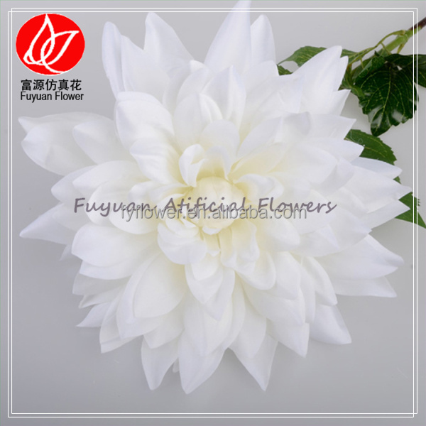 141030 Super quality latest artificial decorative dahlia bouquet arrangements for hotels