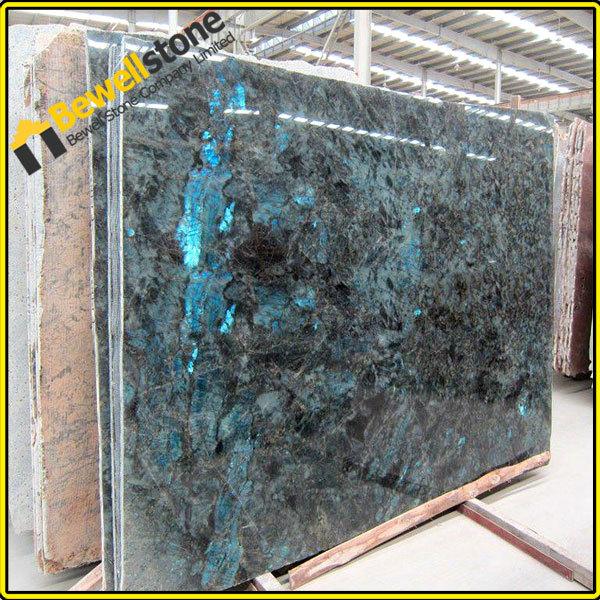 Granite Countertop Slab Size : Prefab slab labradorite beautiful granite blue