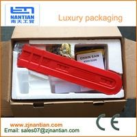 hot sale 52cc gasoline chain saw for home use luxury packaging