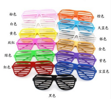 Hot Sale party glasses for christmas Birthday Halloween party decoration supplies glow glasses