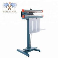 Aluminum body manual film sealing machine vertical high precision sealing machine