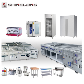 One-Stop Solution Full Set Industrial Commercial Hotel Restaurant Kitchen Equipment