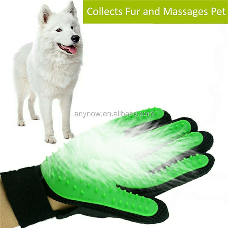 Silicone Pet Cleaning Fur Massage Bathing Glove