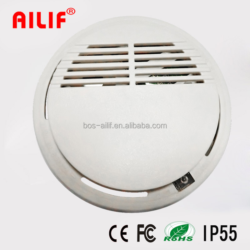 9V Battery Operated Fire Alarm US Electric Smoke Detector