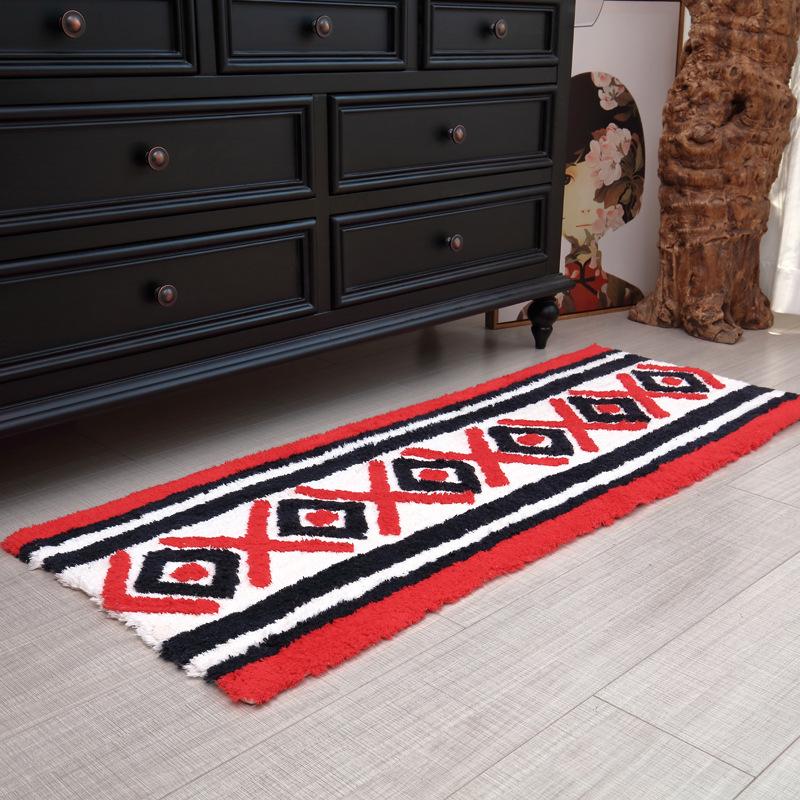 Ethnic Style Kitchen Floor Mat 100