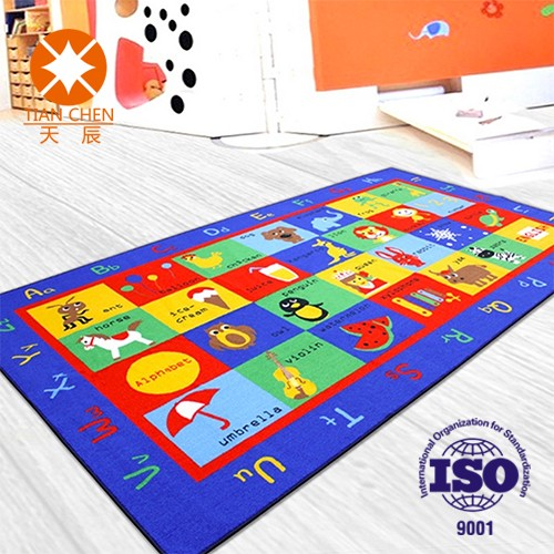 Eco-Friendly Beautiful design Children Tapis Shaggy Carpet