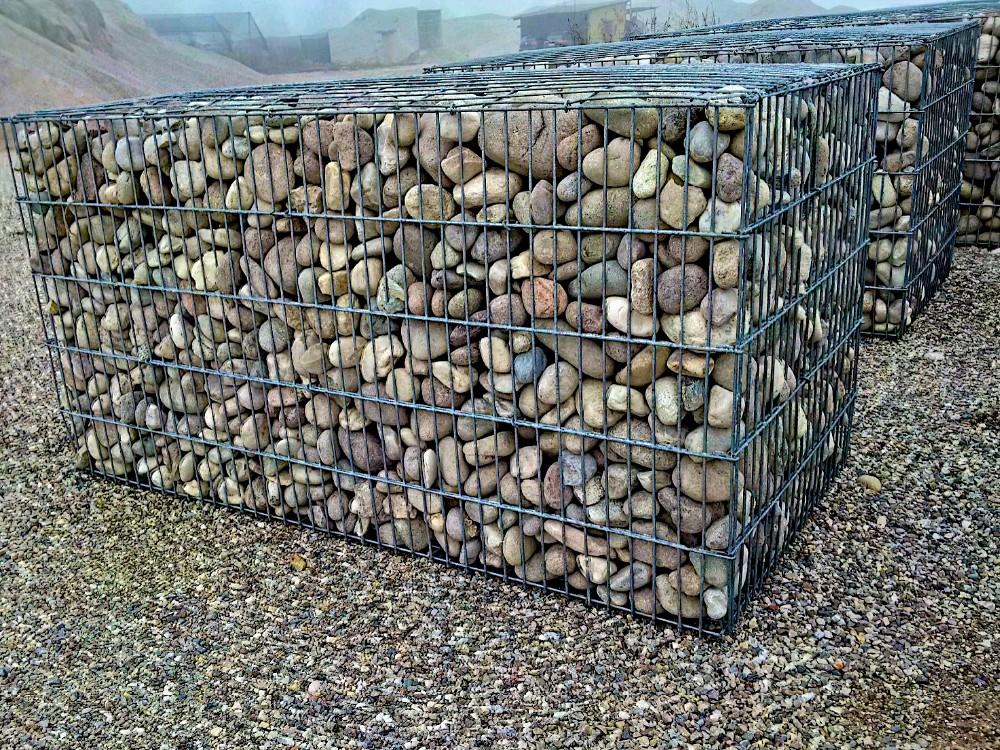 hot dipped galvanized welded gabion box