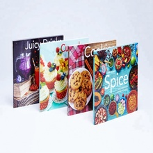 Custom cheap wholesale family lamination recipe cookbook printing service