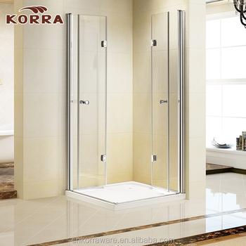 Luxury Tempered Glass Customize Size Frameless Glass Shower Room