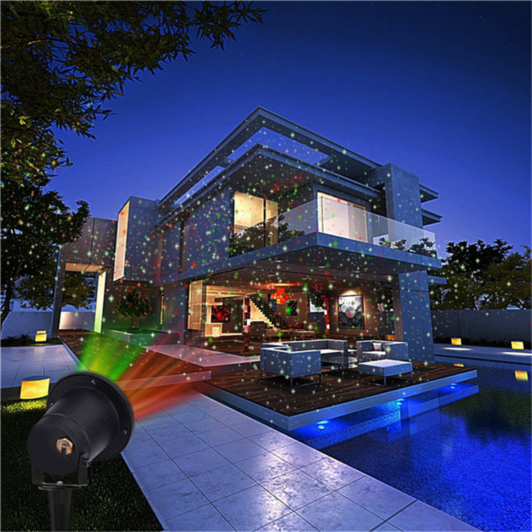Decoration Elf Garden Laser Lights Outdoor