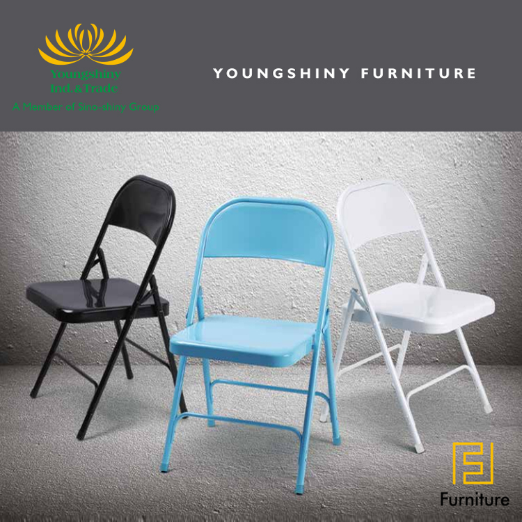 Custom Multi-Colored Steel Restaurant Modern Stackable Chair