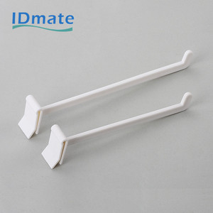 Hanging retail display hooks small plastic hook