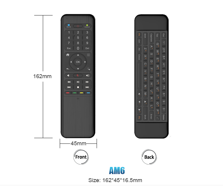 2.4G Smart Air Mouse Remote Control