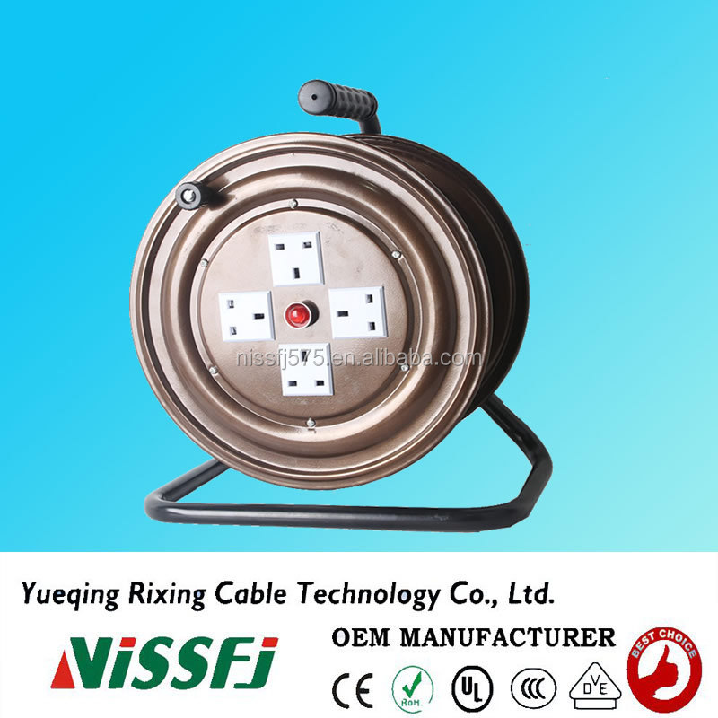 Chinese professional supplier electric metal retractable cable reel T301ZK