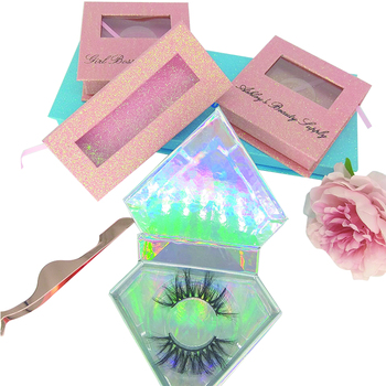 Best Seller Private Label Mink Eyelashes 100% Natural Self Adhesive 3D Mink Lashes and Eyelashes Custom Logo Packaging Box