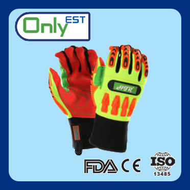 Anti-cutting anti impact auto mechanic gloves with superior quality