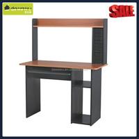 High wood hutch desk