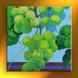 wall art picture Purple red grapes natural scenery art painting GZ-207